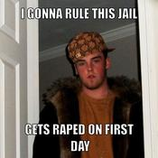 I gonna rule this jail gets raped on first day b2db6f