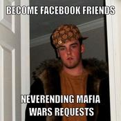 Become facebook friends neverending mafia wars requests