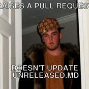 Raises a pull request doesn t update unreleased md 0407a2